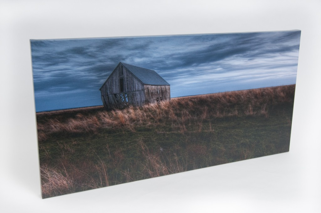 """Old Barn"" Canvas Gallery Wrap Print"